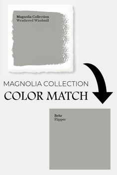 living room paint color ideas Discover the secret to getting you favorite fixer upper paint colors from Behr at your local Home Depot with these Magnolia Home Paint color ma Magnolia Paint Colors, Fixer Upper Paint Colors, Magnolia Homes Paint, Matching Paint Colors, Grey Paint Colors, Bedroom Paint Colors, Paint Colors For Home, Behr Colors, Neutral Paint