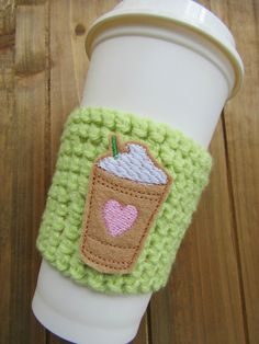Check out this item in my Etsy shop https://www.etsy.com/listing/286546929/frappuccino-crochet-coffee-cozy