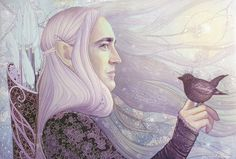 "The berdie by kimberly80.deviantart.com on @deviantART - Thranduil from ""The Hobbit"""