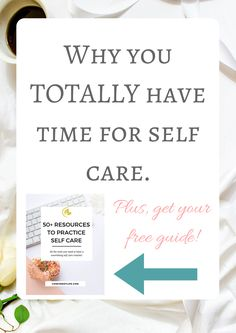 Not prioritising yourself, saying yes to everything, pushing self care to the bottom of that to-so list... You need to read my new post on why you totally have time for self care! Click through to find out more http://www.confidentlife.com.au/totally-time-self-care/