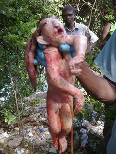 A strange alien rabbit human demon hybrid troll creature discovered. What is this poor unfortunate creature? The image first surfaced in late 2011 and over t. Disney Cartoon Characters, Disney Cartoons, Goblin, Paranormal, Duende Real, The Babadook, Human Oddities, Aliens And Ufos, Alien Creatures