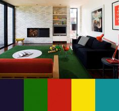Clare Cousins Adds Color To Australian Interiors in interior design  Category