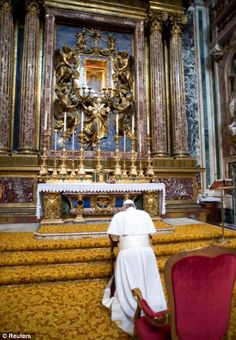 The Forum: Pope at Prayer