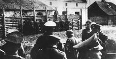 """""""Rozstrzeliwanie Polaków przez Niemców podczas II wojny światowej,Gostynin, 15 czerwca 1941.""""  (Shooting of Poles by the Germans during World War II, Gostynin,  June 15, 1941.)"""