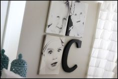 Planning to do this canvas collage in my Family room :)