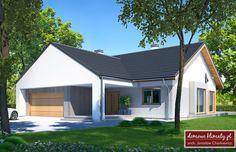 Projekt domu Klimek, wizualizacja 1 Exterior Design, Outdoor Structures, Outdoor Decor, Home Decor, Haus, Home Exterior Design, Interior Design, Home Interiors, Decoration Home