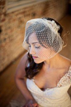 Items similar to Double Birdcage Veil, Bridal Veil, Wedge Veil, Gabrielle on Etsy Wedding Coordinator, Wedding Planner, Wedding Hair Pieces, Wedding Accessories, Headpiece, Wedding Inspiration, Wedding Ideas, Bridal Hair, Wedding Styles