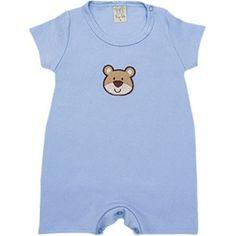Macacão Curto para Bebê Menino - Pingo Lelê