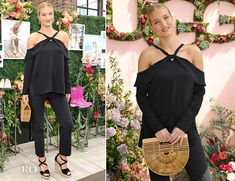 Rosie Huntington-Whiteley In Proenza Schouler – UGG SS17 Campaign Launch In LA