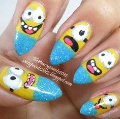 Sassy Paints: M is for Minion!