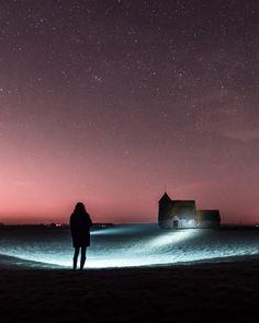 On instagram by mcgivernphotography #astrophotography #contratahotel (o) http://ift.tt/1PDTlbj #church #england #nightsky #night #nightphotography #stars #astro  #longexposure #longexposureoftheday #longexpoelite #amazing_longexpo #tv_longexposure #instagood #roadtrip #igers #igdaily #slowshutter #nightscape #night_shooterz #torchlight #nikon #d750 #nikon_photography_