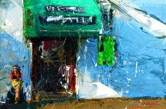 STILL WAITING Digital Art, Nature, Cityscape, Painting, Art, Digital Painting, Color, Beautiful Art