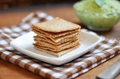 Almond buckwheat crackers. First I made these with whole grain spelt and almond flours because I didn't have buckwheat. I burned the first batch and Sam still loved them. Second batch I am pretty sure it's dark buckwheat and not the light buckwheat like she recommends and I can see why she says light buckwheat. I also used flax and chia seeds instead of sesame this time.