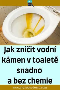 Toilet, Chemistry