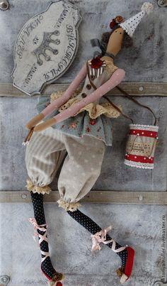 Куклы Тильды ручной работы. Ярмарка Мастеров - ручная работа кукла тильда ручной работы ДЕВОЧКА С БАРАБАНОМ))). Handmade.
