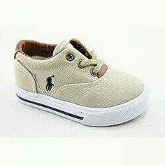 Lil polo shoes.