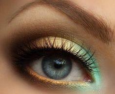 """Olho verde e amarelo sem ser tão """"vai, Brasil""""..."""
