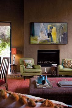 Esta casa fica em Johannesburg e pertence a um casal que coleciona arte contemporânea sul-africana. O antigo proprietário, o arquiteto Johan...