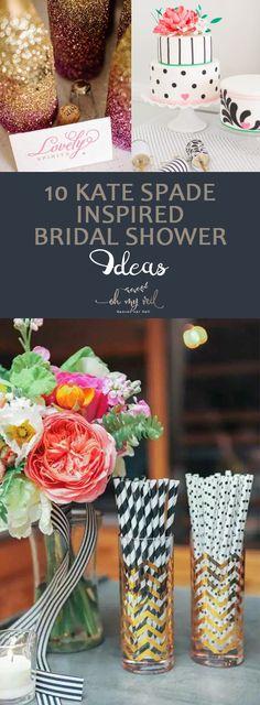 10 Kate Spade Inspired Bridal Shower Ideas