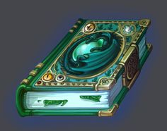 Book of green magic by Tottor on DeviantArt