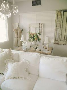 shabby white : Alabaster Rose Designs...♥