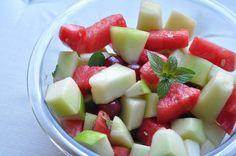 Refreshing Fruit Salad  http://fivefocus.ca/refreshing-summer-fruit-salad/
