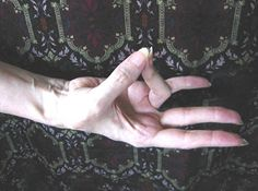 The Prithivi mudra recharges the root chakra aligning it with earth energies.