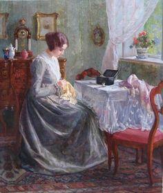 Австрийский художник Карл Мария Шустер ( Karl Maria Schuster ,1871-1953)