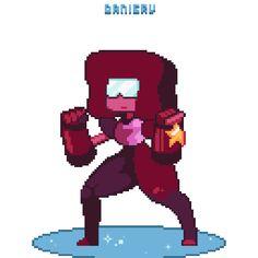 — desudanieru: Steven Universe - Garnet Thanks for. Cartoon Network, Pixel Art, Garnet Steven, Storyboard, Pokemon, Steven Universe Memes, Game Character Design, Universe Art, Cartoon Tv