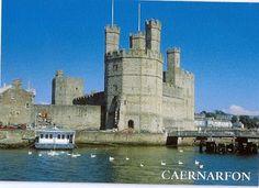 Caernarfon Castle, North Wales Eagle Tower