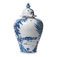Blue + White Ginger Jar