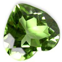 Shop online for high quality Peridot heart shape gemstone in 10mm up for sale at the wholesale prices.
