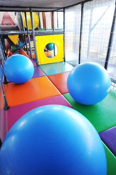 Ball Jam Room event in an indoor playground. We put many fun events in the actual play structure. What are some you like?