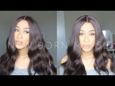New Born Free: Magic Lace Front MLF52 Wig Review | Sam's Beauty - YouTube
