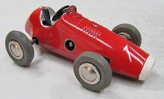 Schuco clockwork racing car