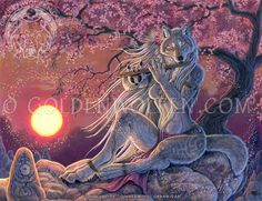 """""""Sacred Winds"""" by Christy """"Goldenwolf"""" Grandjean, 2015. 