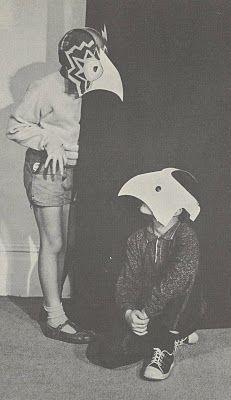 Michael Grater - Paper Faces, 1968
