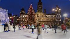George Square Glasgow @ Christmas