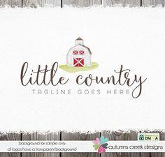 premade logo farm logo barn logo country logo by autumnscreek