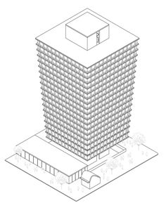 Gallery of 11 Stunning Axonometric Drawings of Iconic Chilean Architecture - 7