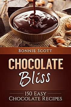 Who doesn't love chocolate? Now you can indulge yourself and your family with amazing chocolate recipes found in Chocolate Bliss: 150 Easy Chocolate Recipes. This great addition to your cookbook library provides you with dozens of chocolate ideas Chocolate Recipe Book, Chocolate Crack, Easy Chocolate Mousse, Chocolate Brownies, Chocolate Recipes, Chocolate Chip Cookies, Chocolate Lovers, Chocolate Cakes, Chocolate Treats