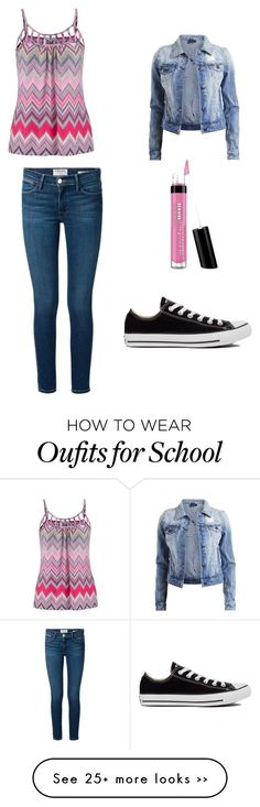 """First day of school Sophomore year"" by stylinteencj on Polyvore"