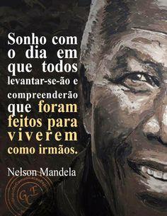 Mandela - único e inigualável.