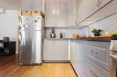 Before & After: A Dingy Brooklyn Kitchen Brightens Up — Sweeten | Apartment Therapy