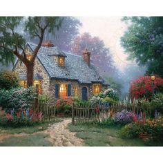 Foxglove Cottage – Limited Edition Art