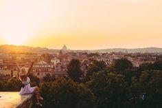 The best spot for sunset in Rome: The Giardino Degli Aranci, Garden of Oranges.