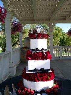 Wb 165 Custom Wedding Cakes At Delrio Www Delriocakes Biz