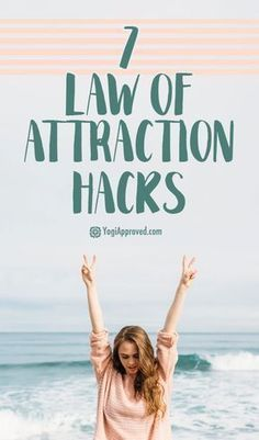 Law Of Attraction Manifestation Miracle - 7 Law of Attraction Hacks That Will Change Your Life Forever Law Of Attraction Manifestation Miracle Way Of Life, The Life, Life Is Good, Secret Law Of Attraction, Law Of Attraction Quotes, Sup Yoga, A Course In Miracles, New Energy, How To Manifest