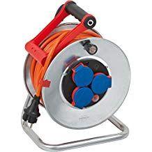 as IP44 Aussenbereich 25m Kabel H05RR-F 3G1,5 schwarz Schwabe 10116 Sicherheits-Kabeltrommel 230mm/Ø