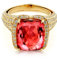 Imperial Topaz Ring by Kat Florence